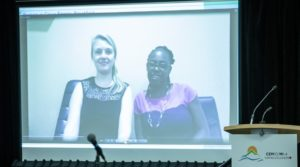 PEG Africa – Winners of the C3E Organizational Leadership Award 2019 digitally connected to the Award Ceremony (c) Natural Resources Canada, 2019.